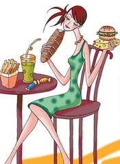Woman No appetite syndromes