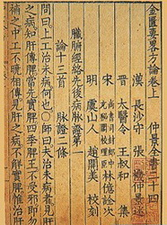 Jin Kui Yao Lue Fang Lun:the Synopsis of Prescriptions of the Golden Chamber