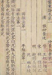 Shang Han Za Bing Lun:the Treatise on Cold-induced Diseases
